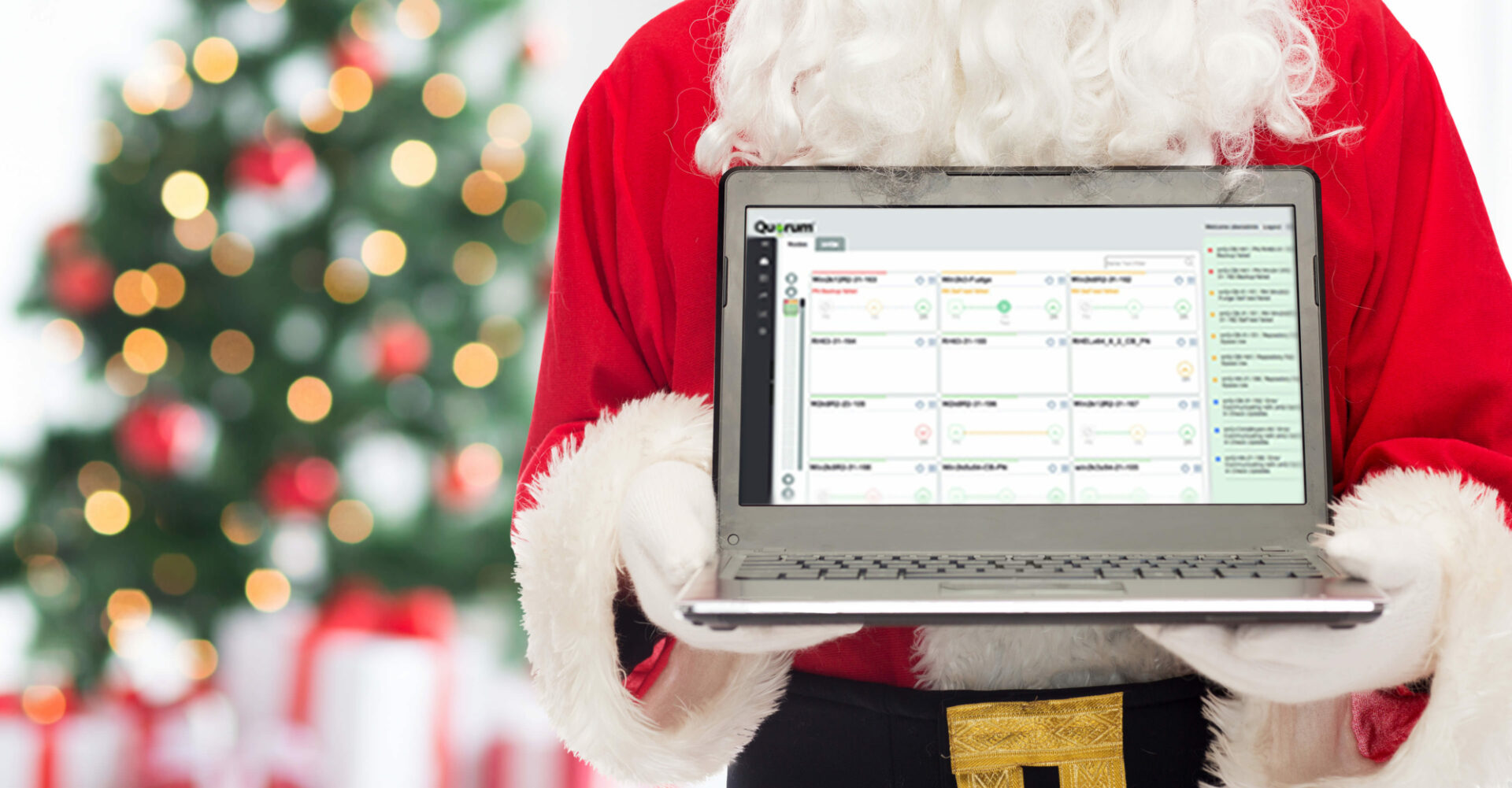 Quorum Blog Holiday Speed