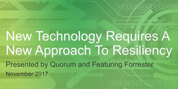 Quorum Webinar Forrester Resiliency Cover 111717A