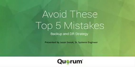 Quorum Webinar Top5 Mistakes Cover 052517A