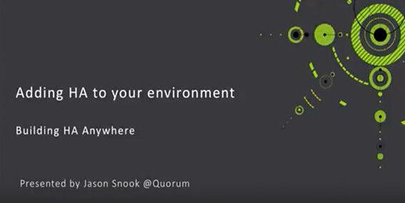 Quorum Video Hato Environment Cover 061918A