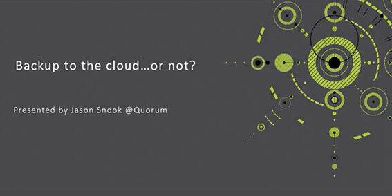 Quorum Video Qtbackup Cloud Cover 061918A