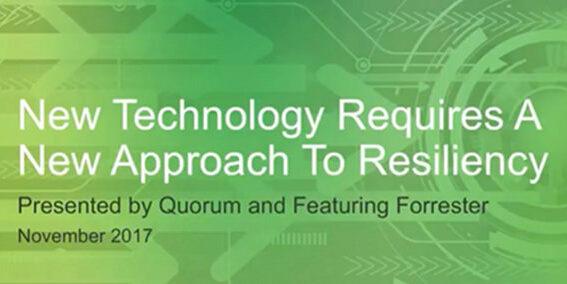 Quorum Webinar Forrester Resiliency Cover 111717A